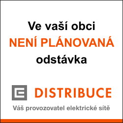 ČEZ Distribuce – Plánované odstávky