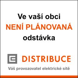 Odstávka elektřiny ČEZ distribuce
